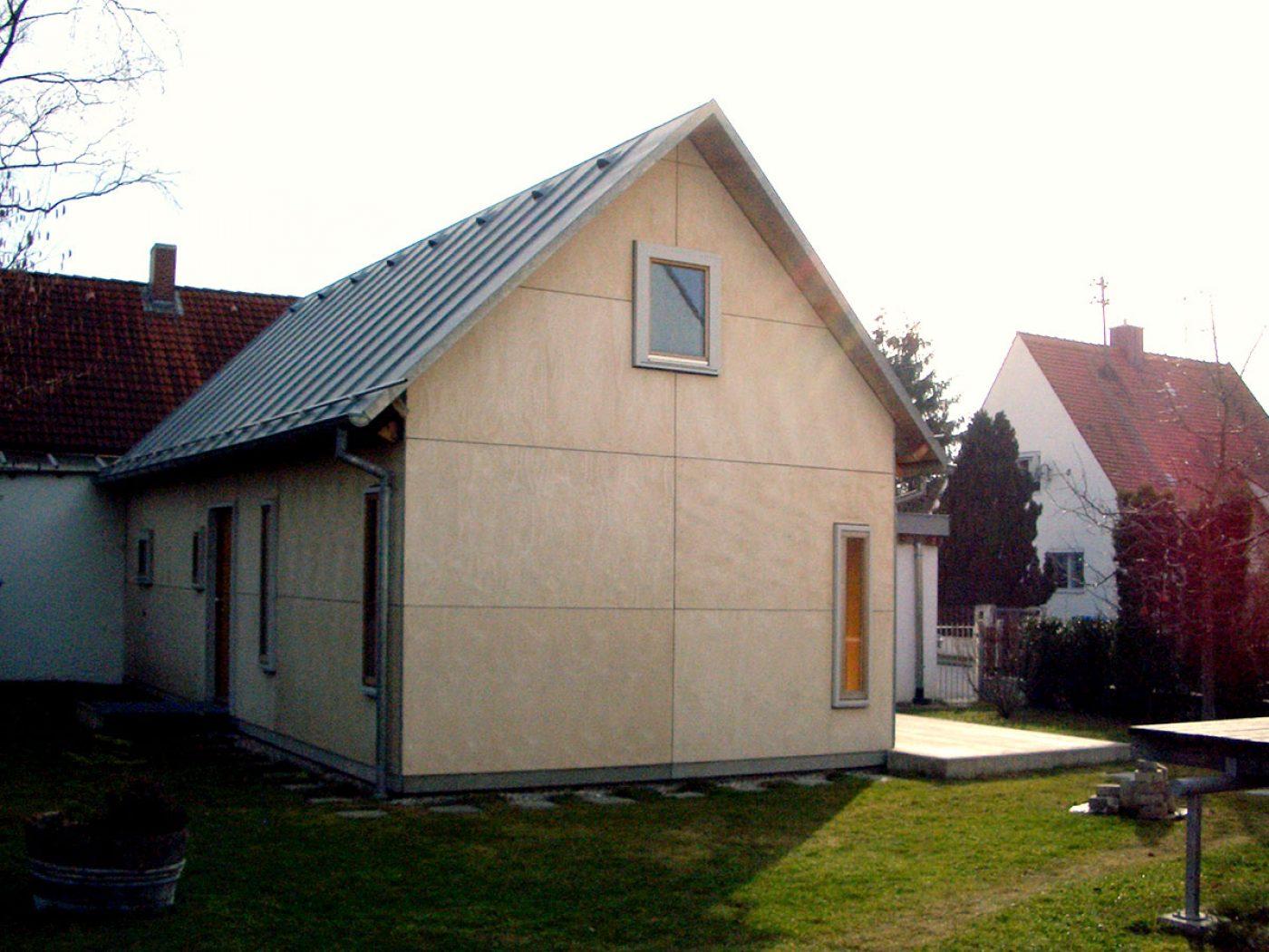 atelierhaus gartenseite