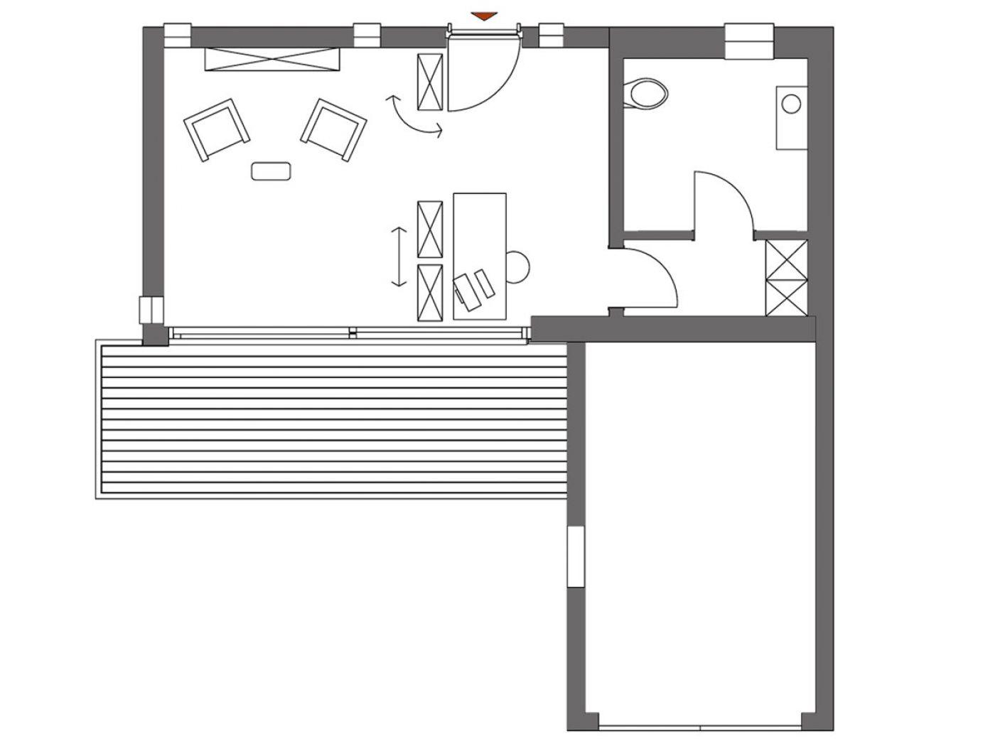 atelierhaus grundriss